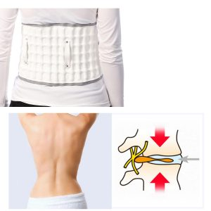 Spinal Air Traction Lumbar Support Massage Belt Body Relaxation Brace Physio Decompression vertebra Massage Back Pain Release