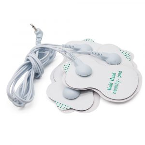 Aptoco 4 Electrode Body Health Care Tens Acupuncture Electric Therapy Massager Meridian Physiotherapy Massager Apparatus