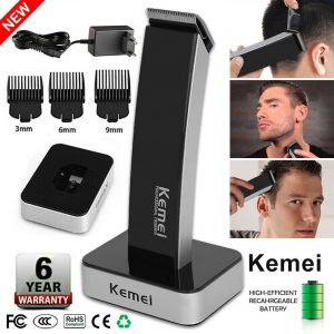 Rechargeable Men Electric Hair Clipper Shaver Beard Razor Trimmer Shaving Kit US