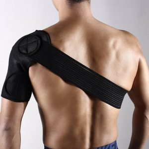 Adjustable Shoulder Support Brace Strap Joint Sport Gym Compression Neoprene NEW